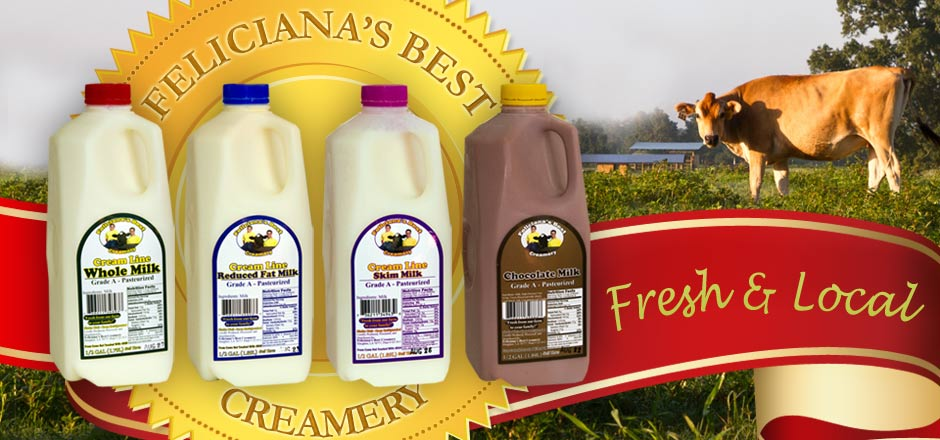 Louisiana Local Dairy - Cream Line - Non-Homogenized Milk