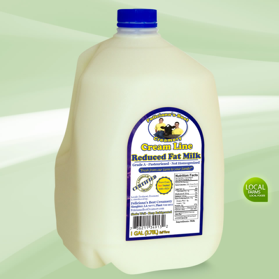 Cream Line Reduced Fat 2% Milk