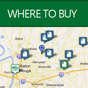 Interactive Map of Locations to Purchase Feliciana's Best Creamery Milk Products