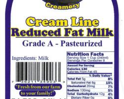 reduced-fat-milk-label