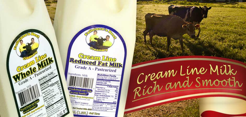 Cream Line Whole Milk
