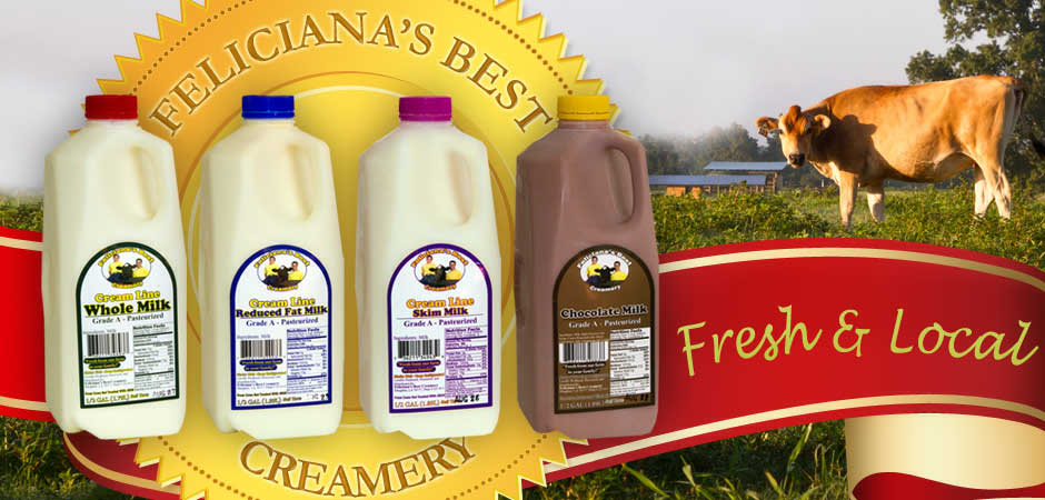Fresh & Local - A Complete line from milk from a truly independent dairy farm.