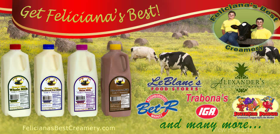 Where to buy Feliciana's Best Creamery Milk in Baton Rouge