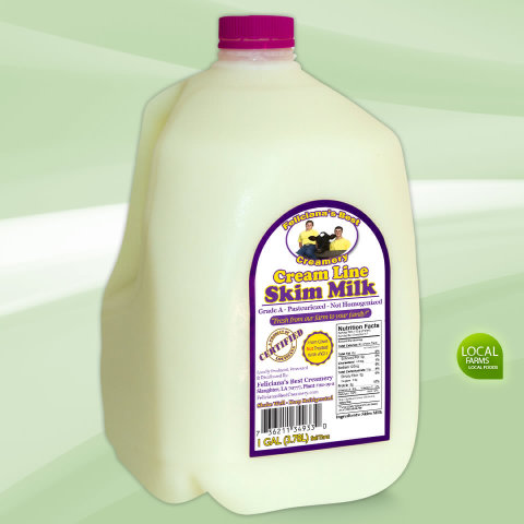 Fat Free Skim Milk